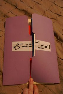 Music lapbook. I think we'll be making these this week.