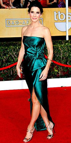 SAG Awards 2014: Best Dressed -  Sandra Bullock in Lanvin