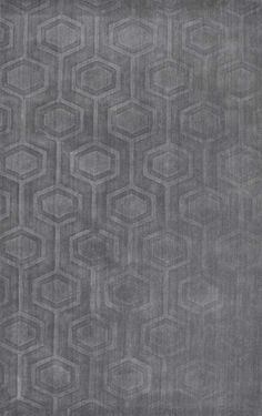 "Monochrome Hexagon CS03 7'6""x9'6"" $288. Rugs USA - Area Rugs in many styles including Contemporary, Braided, Outdoor and Flokati Shag rugs.Buy Rugs At America's Home Decorating SuperstoreArea Rugs"