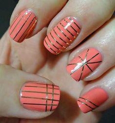 Cintas Adhesivas Striping Tapes Para Deco De Uñas - Nail Art