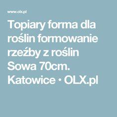 Topiary forma dla roślin formowanie rzeźby z roślin Sowa 70cm. Katowice  • OLX.pl