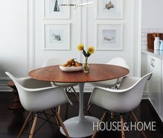 Mod White Dining Area - http://www.woodsmith.ca/mod-white-dining-area/