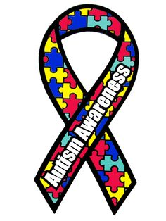 autism awareness ribbon | Diagnosis: Autism ~ One Family's Story (a short story in recognition ...