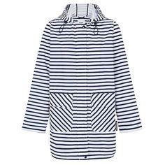 Tea Pea - Paqme Women's Everyday Raincoat - Zig Stripe