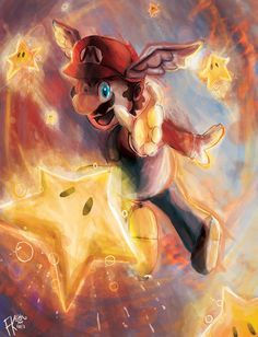 Super Mario by~CyberWolf