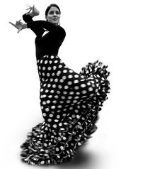 Flamenco, a major point of inspiration for Balenciaga. Many of his designs reference the dancers ensembles.