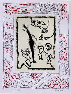 Pierre Alechinsky - CoBrA art from Brussels