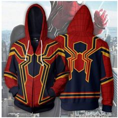 Largest selection of unofficial Marvel merchandise and goodies. Get free goodies and affordable prices at Marvel Goodies online store. Marvel Jacket, Marvel Universe, Marvel Fashion, Best Avenger, Marvel Clothes, Superhero Clothes, Super Hero Outfits, Iron Spider, Geek Gear