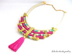 Hey, I found this really awesome Etsy listing at https://www.etsy.com/listing/530457797/african-statement-necklace-tassel #tasselnecklace #ropenecklace #ropejewelry #africanjewelry #masaijewelry #statementnecklace #handmadejewelry