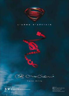 #Superman #Cruciani Michele Inzerillo for Gentleman disponibile presso la nostra boutique::
