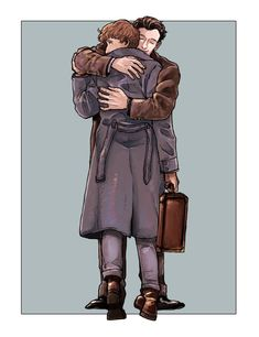 When Newt hugged Theseus ❤️ Harry Potter Prequel, Harry Potter Disney, Harry Potter Fan Art, Harry Potter Universal, Hery Potter, Harry Potter Painting, Fantastic Beasts And Where, Fantastic Beasts Fanart, Hogwarts Mystery
