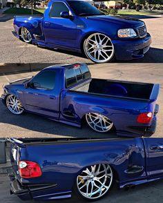 Bagged Trucks, New Trucks, Cool Trucks, Custom Chevy Trucks, Ford Pickup Trucks, Ford Lightning, Single Cab Trucks, Ford Svt, Chevrolet Ss