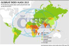 Alarmující hlad je v 19 zemích světa,  tvrdí mezinárodní zpráva