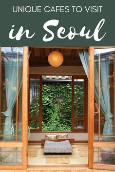 Unique themed cafes in Seoul, Korea you'll want to visit!