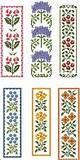 Floral Bookmarks Marcadores de