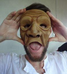 Eric Makes Masks Diy Mask, Balinese, Masks, People, Balinese Cat, People Illustration, Folk, Face Masks