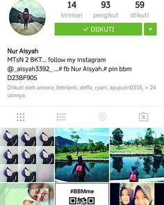 @_aisyah88_  follow guys..... sahabat cantik., temen bareng , gasom ,and,everything about that. jgn lupa spam likes....