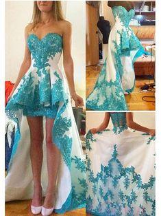 Homecoming Dress 2017 Sweetheart Asymmetrical Juniors Homecoming Dresses SKY355