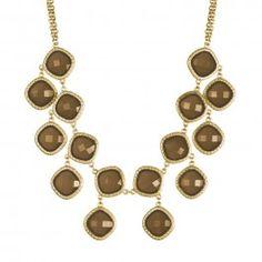 We love the Harper Necklace! Come check it out in Smoky Topaz & Aqua!
