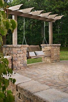 Backyard Patio Design Idea More