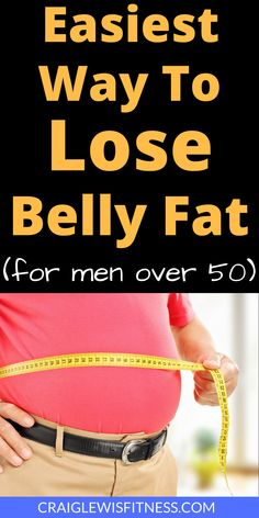 Wanting to lose belly fat is one of the most common things guys want to do. Given the health benefits of shifting this belly fat, it should come as no surprise. Here is the easiest way to lose belly fat for men over 50 Men Over 50, You Wake Up, Stubborn Belly Fat, Burn Belly Fat, Loose Belly, Stay In Shape, Fat Fast, Ways To Lose Weight, Metabolism