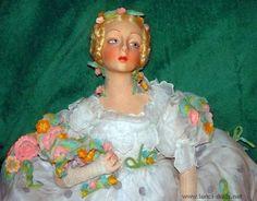 Lenci Boudoir Doll 1930s ❤ ❤ ❤