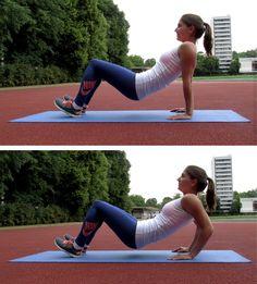 Trizeps Dips für straffe Oberarme | Ganzkörper-Workout | comuvo Blog