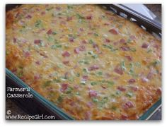 Farmer's Casserole from Recipe Girl