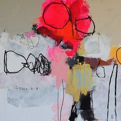 Ink & Alchemy: The art of Nadine Bourgne Art Works, Abstract Art Painting, Contemporary Abstract Art, Art Painting, Abstract Artists, Abstract Painting, Abstract Art, Art, Collage Art