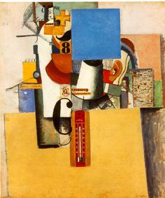Kazimir Malevich - Solider of the First Division (see thermometer)
