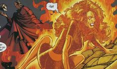 Knowing he was defeated, Magneto used his stored energy to give Phoenix a stroke 'on the planetary level'. Wolverine decapitated Magneto in a berserker rage as Jean Grey died in the arms of her husband.