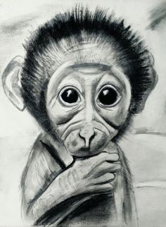 The baby innocent monkey made by me..