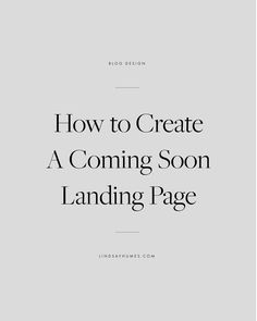 How to Create a Coming Soon Landing Page in WordPress