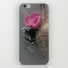 Wedding Shell with Rose iPhone & iPod Skin
