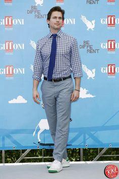Matt Bomer at the Giffoni Film Festival - Italy 7/19/2014