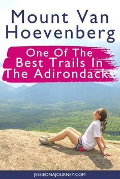 Hiking The Mt Van Hoevenberg Trail In The Adirondacks