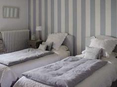 chambre gris gustavien
