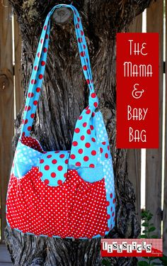 Diaper Bag - PDF Sewing Pattern + Why Does My Top Thread Keep Breaking?