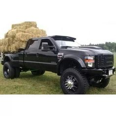 Murdered out F350!!