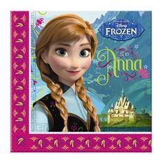 Pack 20 Servilletas Frozen http://www.airedefiesta.com/product/6932/0/0/1/1/Pack-20-Servilletas-Frozen.htm