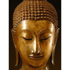 ''Buddha Sayamuni'' by Ayutthaya Photography Art Print