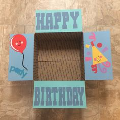 Birthday Care Package Flaps by LoveFromHomePackages on Etsy
