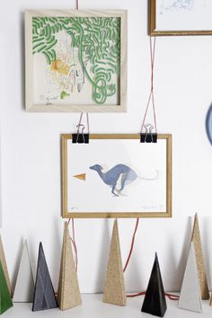 Exhibition by driehoek , via Behance Gallery Wall, Behance, Illustration, Frame, Picture Frame, Illustrations, Frames