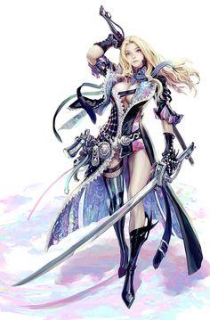 ArtStation - two swords, a pistol, seunghee lee