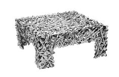 Table Made of Cutlery