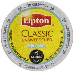 Lipton K-Cup Portion Pack for Keurig Brewers >>> Want additional info? Click on the image.