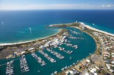 Few safe harbours offer the beauty and sensational facilities, for which Mooloolaba Marina is famous. Brisbane Queensland, Queensland Australia, Fraser Island, Safe Harbor, Coast Australia, Cruise Port, Sunshine Coast, Oceans, Wonderful Places