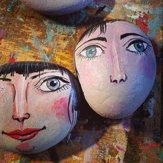 #pebble #stone #stoneart #illustration #kavicsfestés #gallery #instatalent #instaart #art #mik #paint #handmade #design
