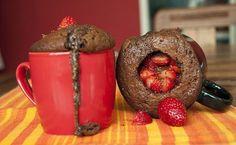 19 receitas de bolo de caneca para facilitar e adoçar sua vida