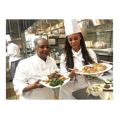 @tyrabanks enjoying the cooking class at @ciacalifornia #VisitNapaValley : @tyrabanks by visitnapavalley